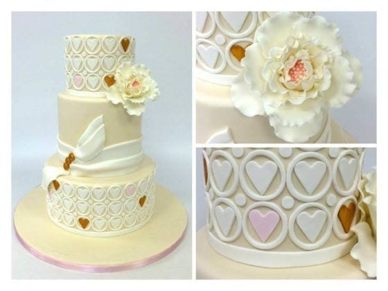 NJ Weddings-Carlos Bakery-Cake Boss-Ivory Cake