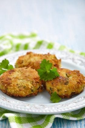 Finger Food Apps: Coconut Shrimp Patties with Apricot-Mustard Sauce
