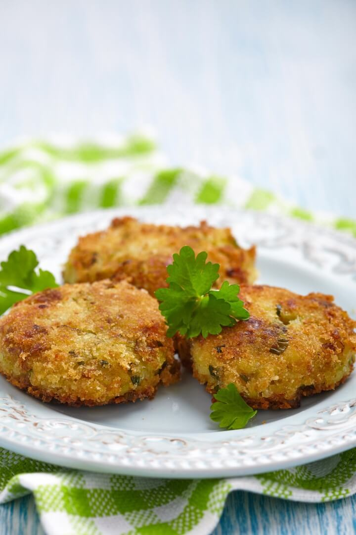 Coconut Shrimp Patties with Apricot-Mustard Sauce