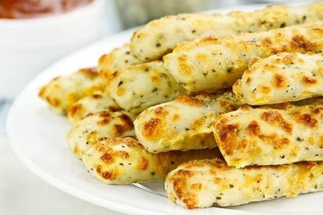 Finger Food Apps: Mustard and Gruyere Batons