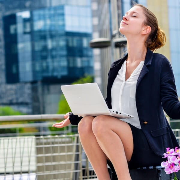 Yoga at Work: Seated Stretches