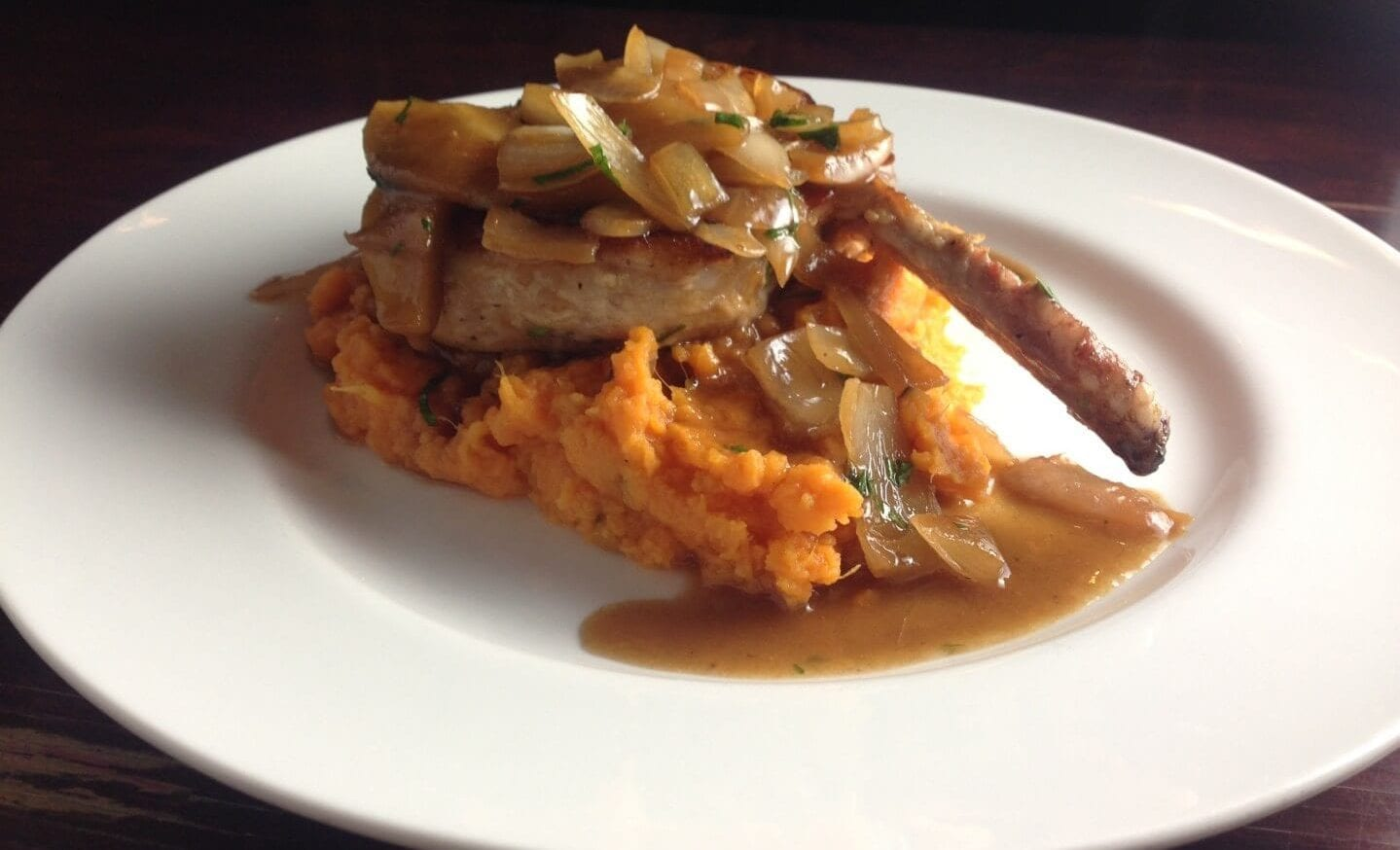 Healthy Thanksgiving Side Dishes: pork_chop