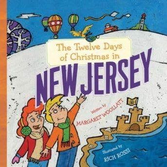 The Twelve Days of Christmas in New Jersey Book Cover