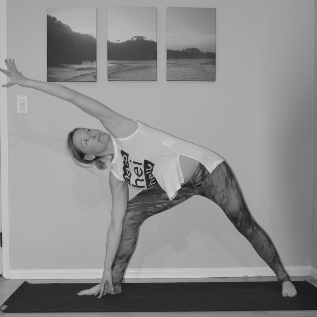 extended side angle with bind pose