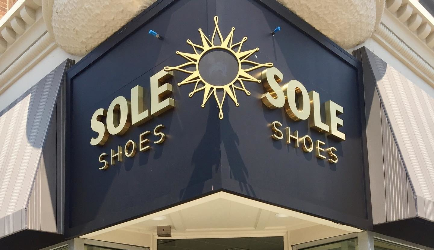 sole shoes store front