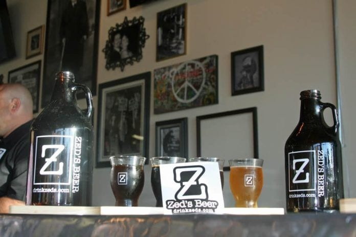 zed's beer, craft brews, marlton