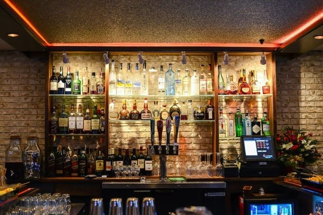 Liquor Bar Available at Bareli's Italian Restaurant & Bar