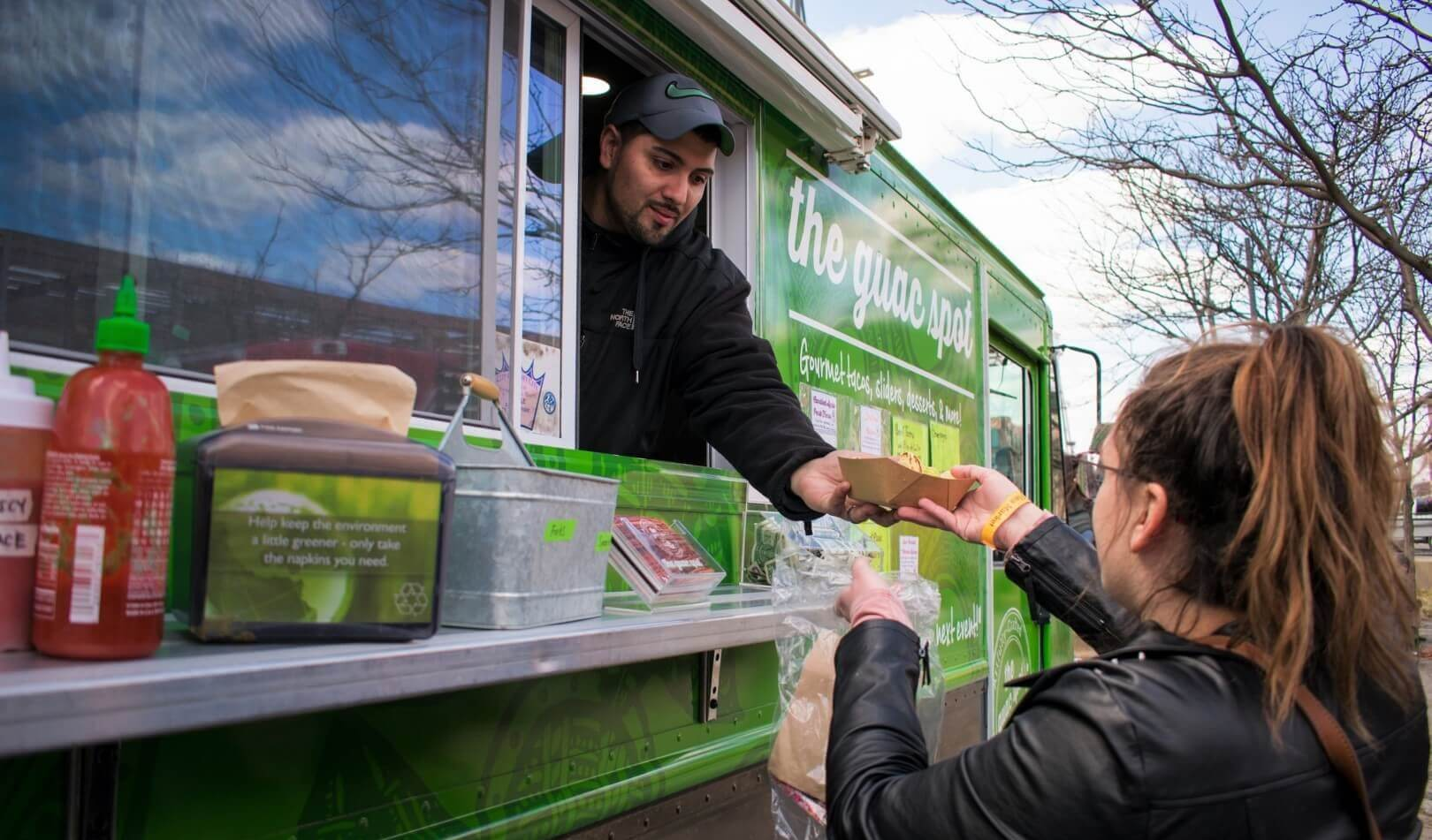 The Best New Jersey Food Trucks Spotlight on The Guac Spot