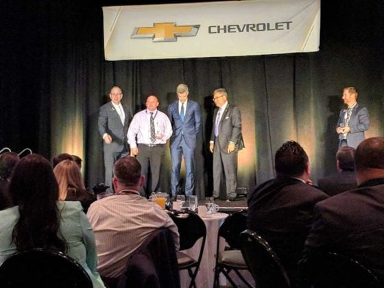 Schumacher Chevrolet Owners on Stage