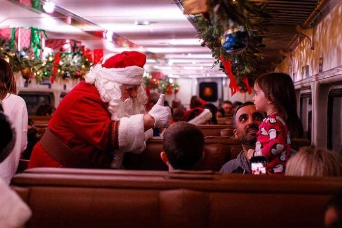 Christmas Train Ride.The Best Holiday Train Rides In New Jersey Best Of Nj