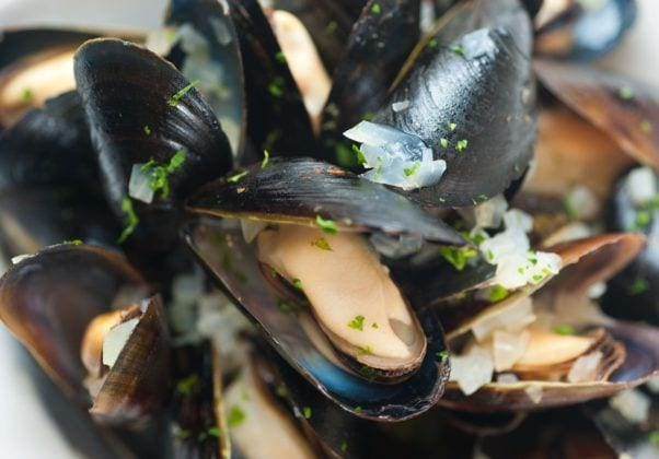 Mikes ABG mussels