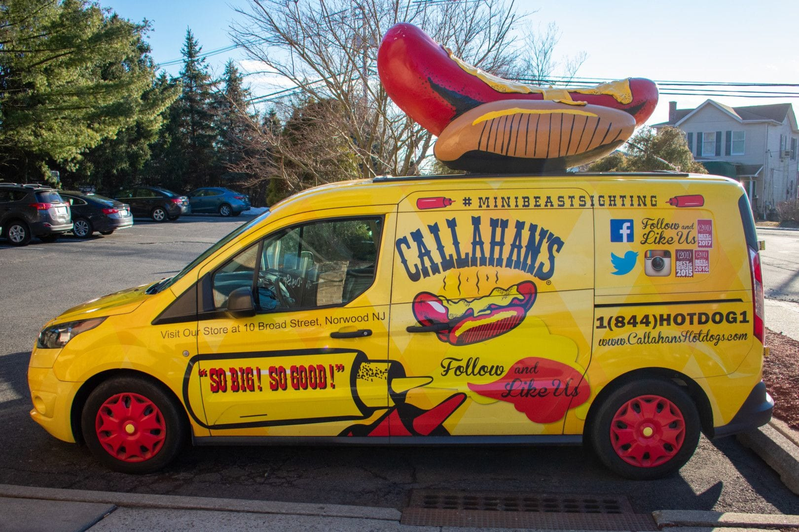 Callahan's Food Truck, one of the Best New Jersey Food Trucks