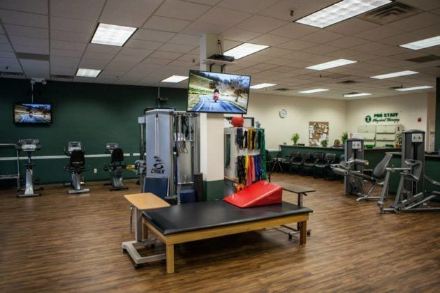 Pro Staff Physical Therapy Clifton Interior