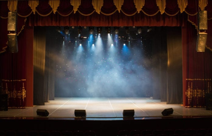 Performing Arts Theater Stage