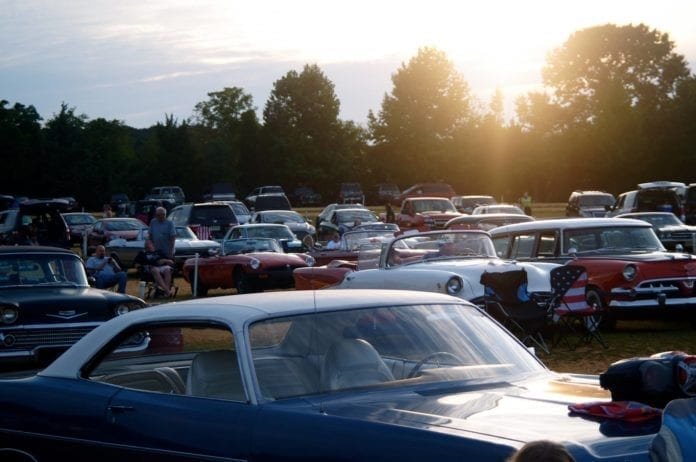 Delsea Drive-In Car Show