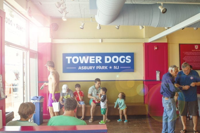 Tower Dogs Restaurant Interior
