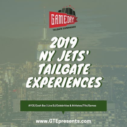 jets tailgate experience