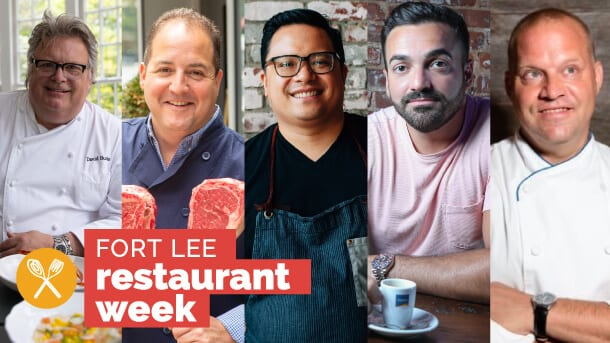 Celebrity Chefs Appearing at Fort Lee Restaurant Week