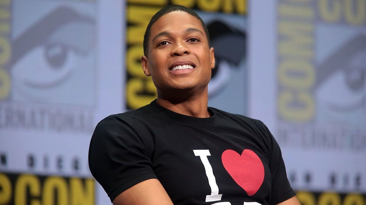 Ray Fisher at San Diego Comic Con