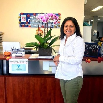 AmeriCare Physical Therapy Owner Susan Rele