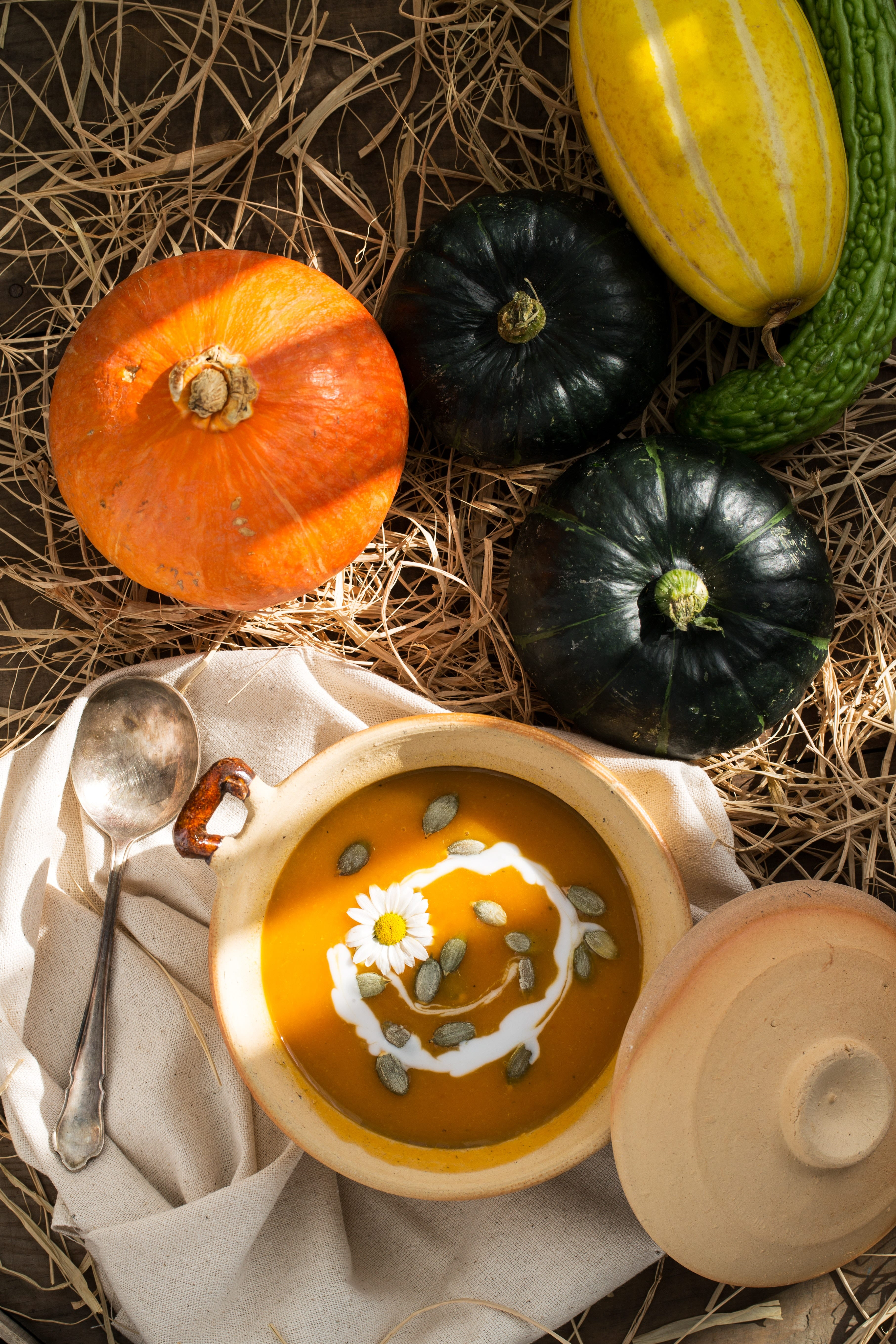 color decoration fall for thanksgiving dinner