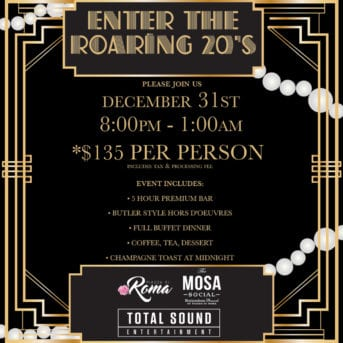 Piazza Di Roma's New Year's Eve Gala