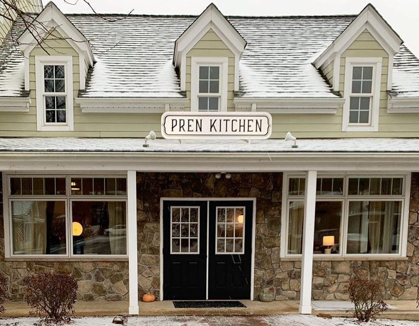 Pren Kitchen Exterior Entrance