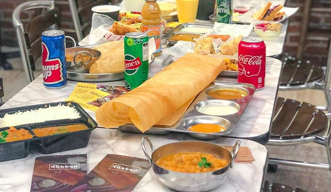 Indian Food on Table