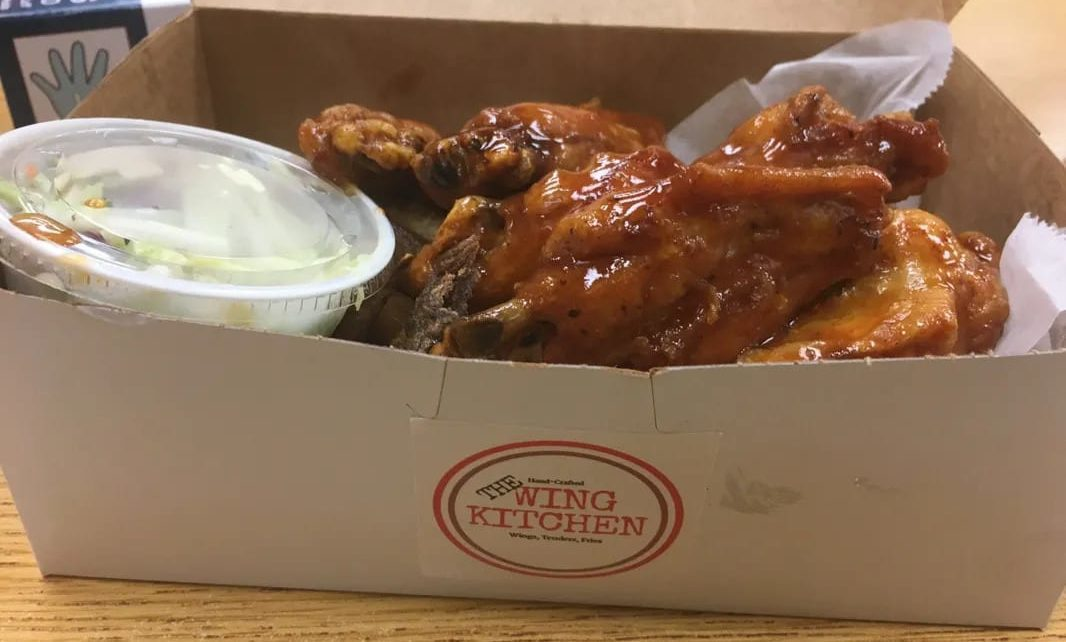 Box of Chicken Wings from The Wing Kitchen