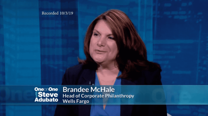 Photo of Brandee McHale, Head of The Wells Fargo Foundation