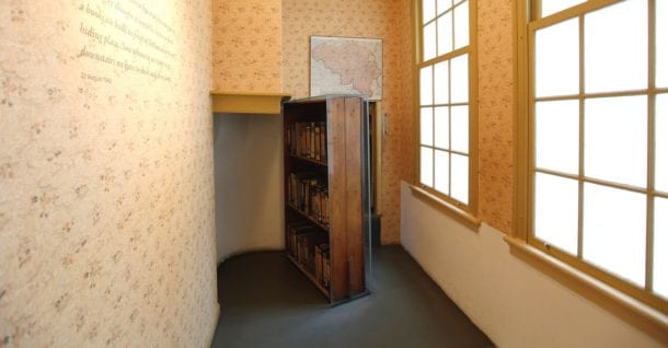 Anne Frank Museum Bookcase