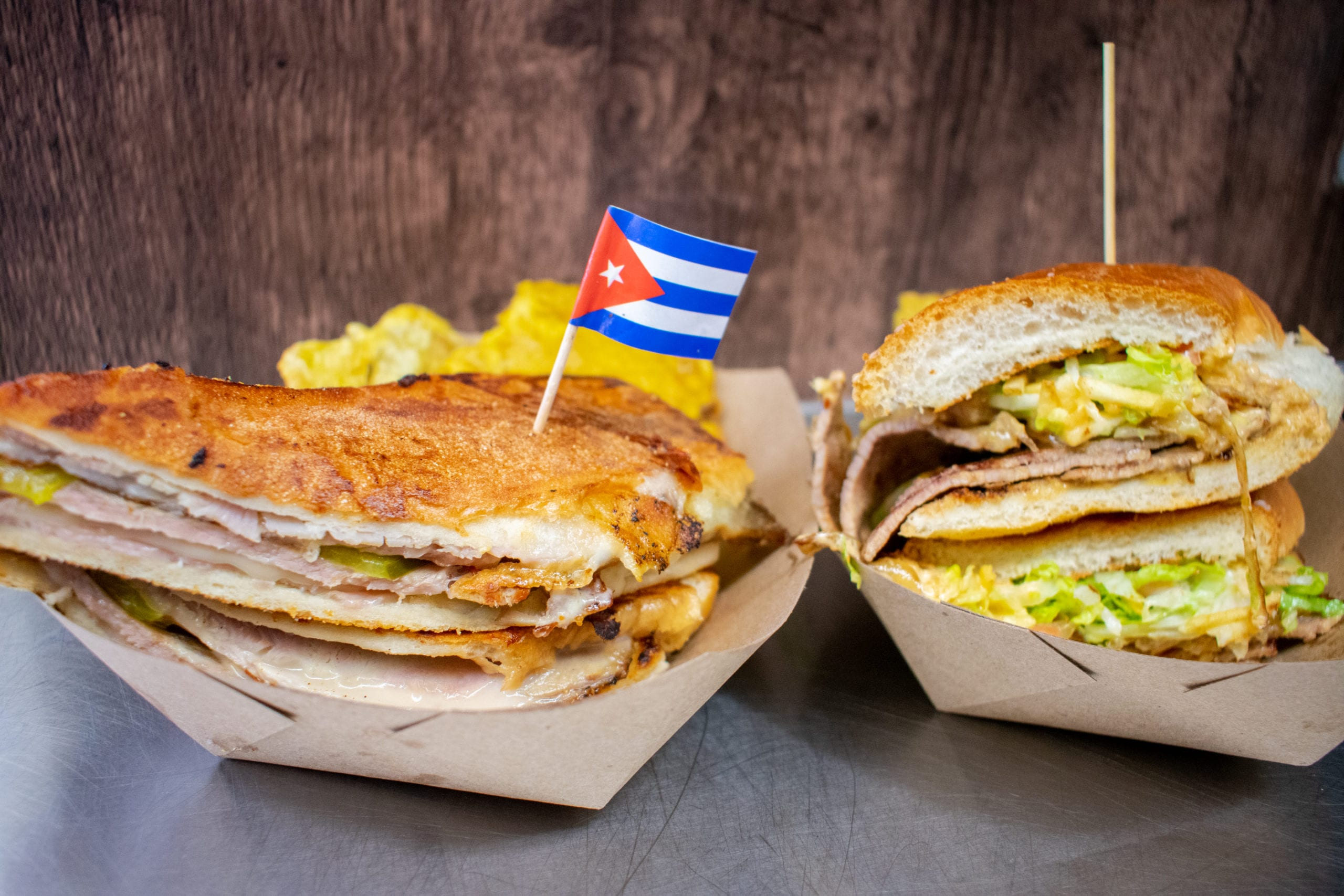 Two Cuban Sandwiches