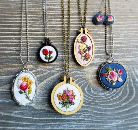 Necklaces from Pretty in Shop