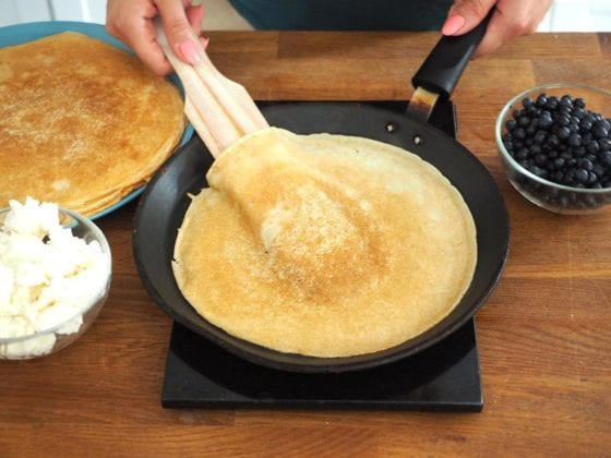 Crepes Step 3