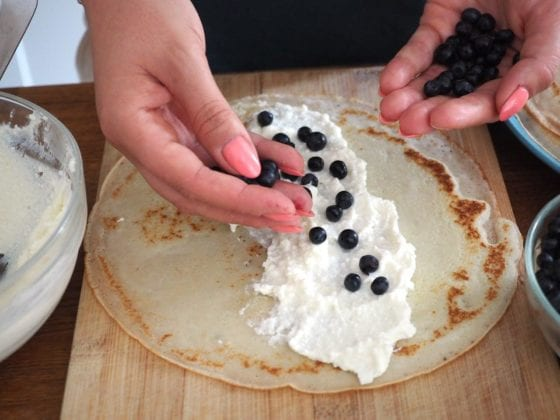 Crepes Step 4