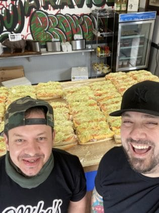 Mike's Pasta & Sandwich Shoppe Donates Sandwiches via their Heros for Heroes Campaign