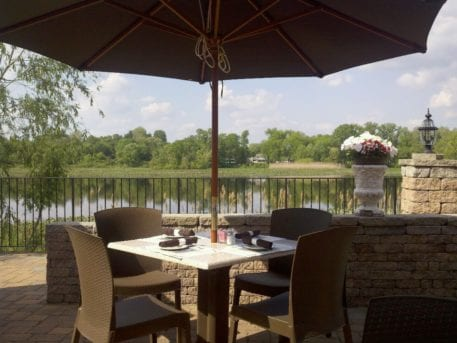 Patio Dining at Carlucci's Waterfront