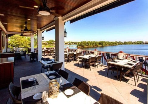 Charlie's of Bay Head Outdoor Dining Example
