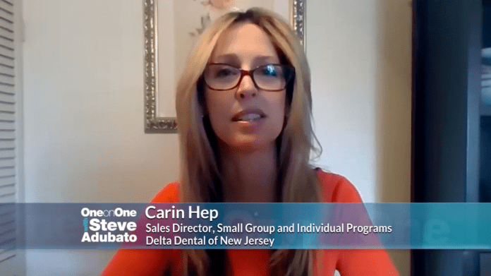 Carin Hep from Delta Dental talks Covid-19 effects on small businesses