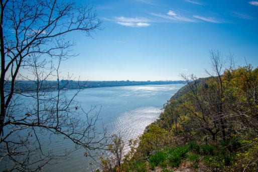 Hudson River View from Trail