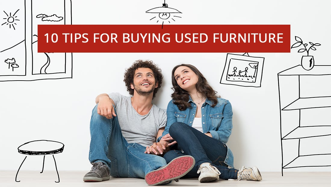 10 Tips for Buying Used Furniture
